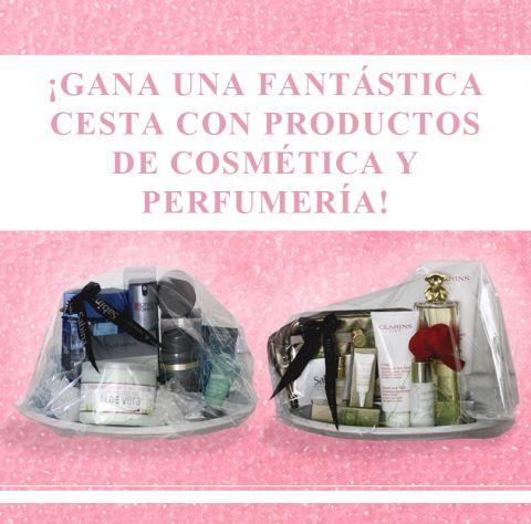 ¡Gana una fantástica cesta con productos de cosmética y perfumería!