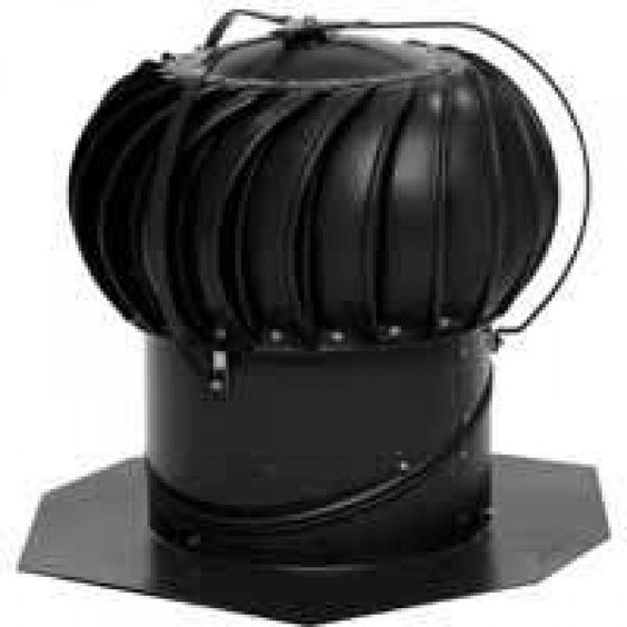 Lomanco Black Turbine And Base Beb14b For More Information Visit Image Link Aluminum Turbine Roof Vents