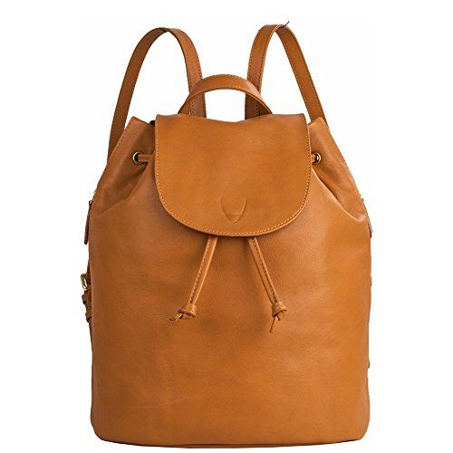 Hidesign Leah Leather Backpack (Honey) | Leather backpack