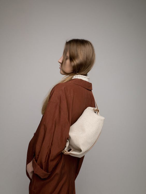 Gift for her: Transfer Bag Natural (Free Worldwide Delivery)