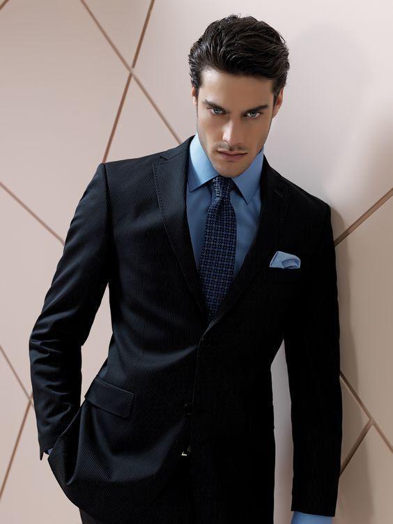 Retro Gentlemen's Favorite Color, Dark Blue! – Leonadem