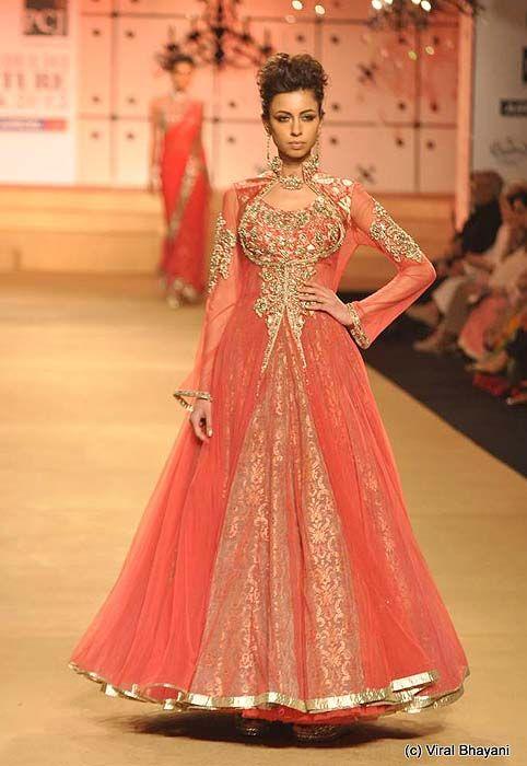 Ashima Leena At Delhi Couture Week 2012 Anarkali Love The