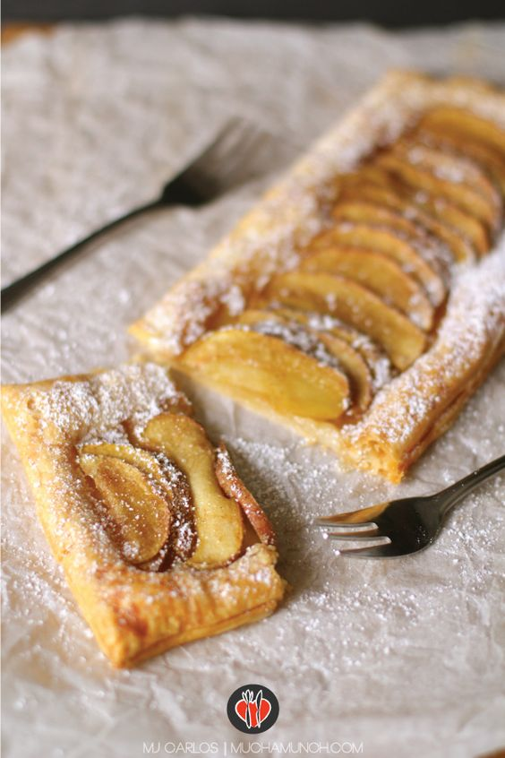 I've been wanting to make this dessert for so long but every time I had a hankering for it, we didn't have any apples, or we didn't have any puff pastry. Plus I always thought because it seems so v...