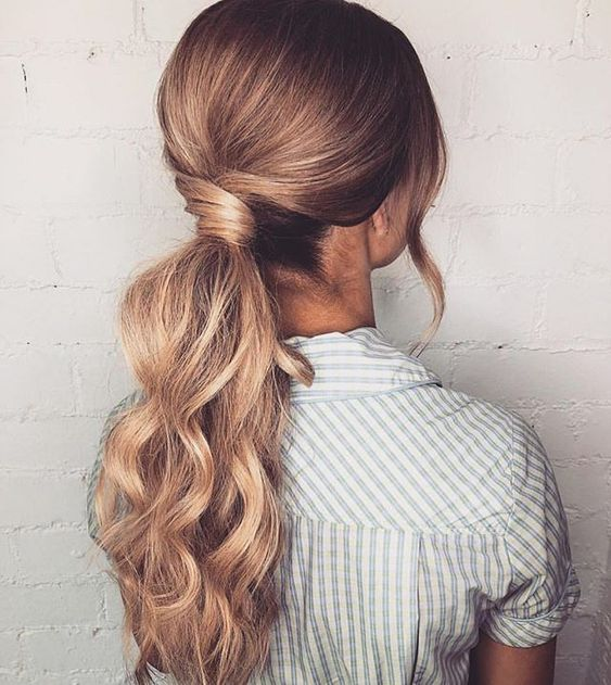 Gorgeous ponytail hairstyle inspiration