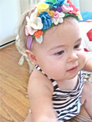 flower crown, for a girl!
