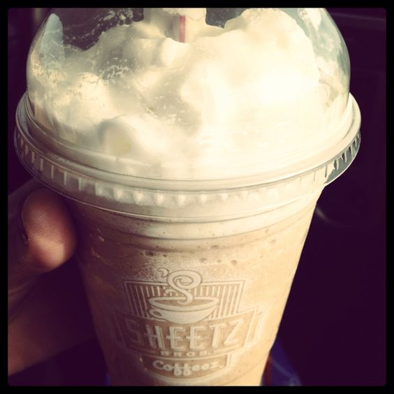 Frozen Chai Tea from Sheetz. Yuuummm had this today the best EVER!!! try it!!!