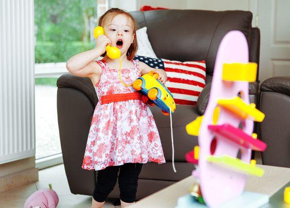 """Expo photo """"Elle est où la différence ?"""" : Janie alias « Bibouille », une petite fille remplie de vie"""