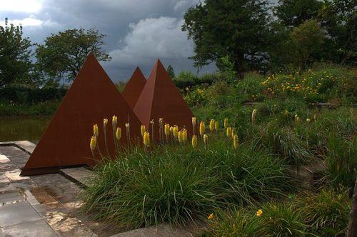 A garden in Normandy, France  Cleve West Landscape Design  gardendesigntravels.tumblr.com