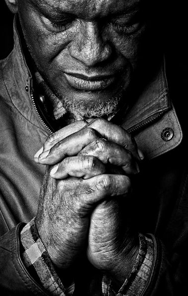 Hands Tell Our Life Stories: What's he praying for. Is he grateful or desperate?