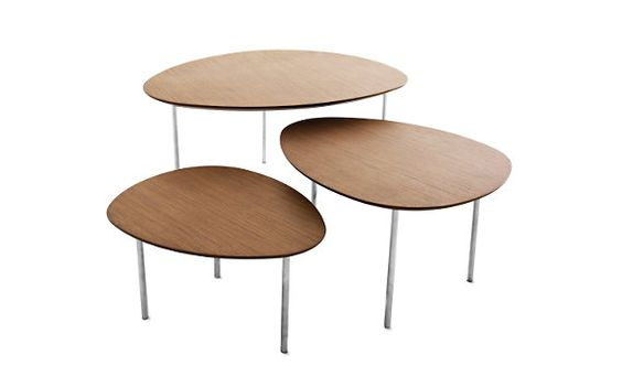 Eclipse Nesting Tables (Set of 3)