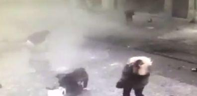 Videos captan momento exacto del atentado en Estambul