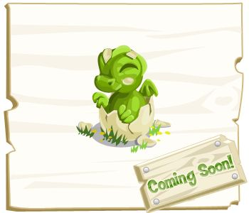 """These Dragon babies are hatching soon in Farm Story, but don't worry... they play nice with the other animals! """"Like"""" if you'll place them on your Farm!"""