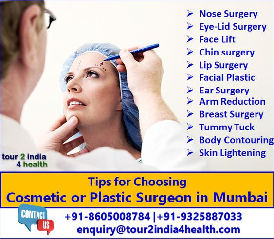 Cosmetic surgery refers to surgical procedure to change the appearance of a body part. Plan your cosmetic surgery with one of the best plastic surgeons in Mumbai at an affordable cost.