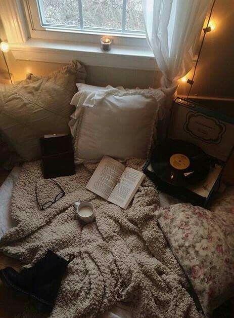 Cozy reading spot: