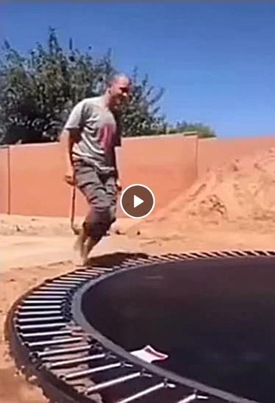 Tenha cuidado no trampolim e tenha uma boa diversão.