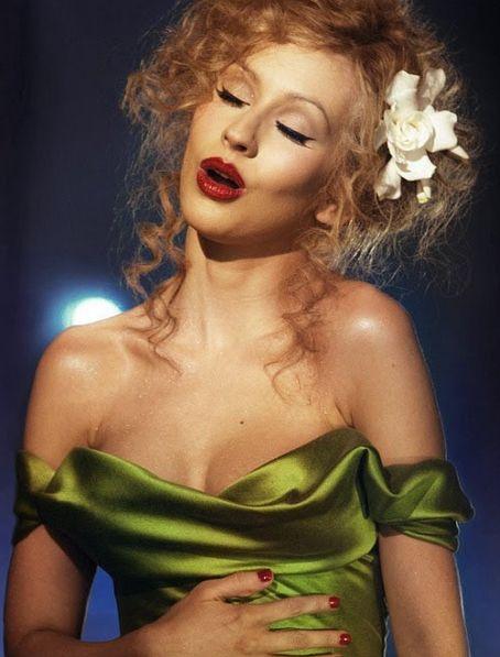 maquillage Christina Aguilera Burlesque