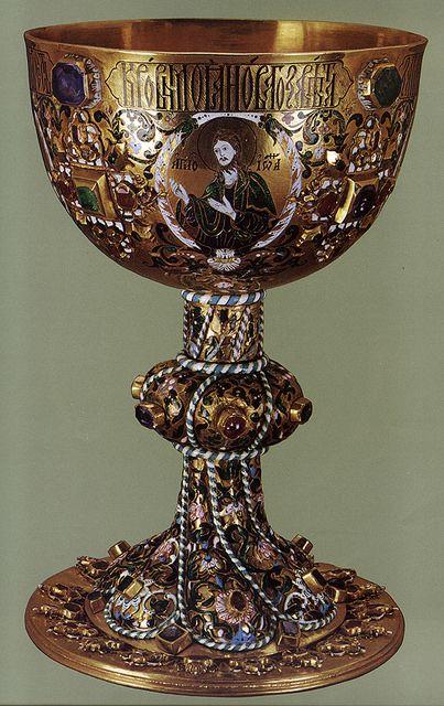 russianEnamels-Потир золотой. 1664. Мастерские Московского Кремля | Flickr - Photo Sharing!: