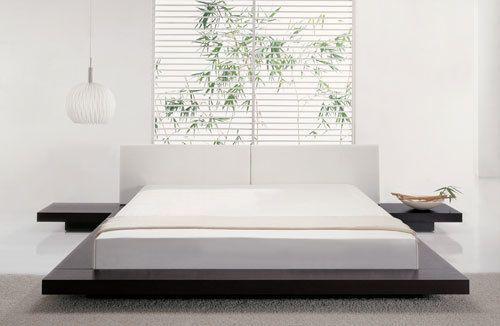 Japanese Style Platform Bed With Images Platform Bed Designs