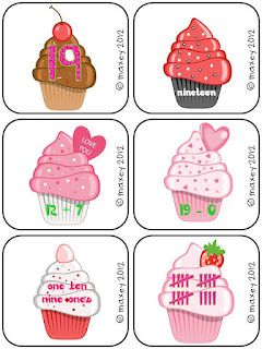 Cupcake Number Form Freebie - use for higher grade levels to teach numeric, expanded, ordinal, and word forms.