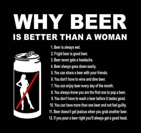 Women VS Beer - funny pictures - funny photos - funny images - funny pics…