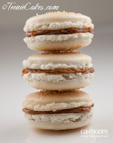 Vanilla and Dulce de Leche (Cajeta) Macarons · | Macaroons ...