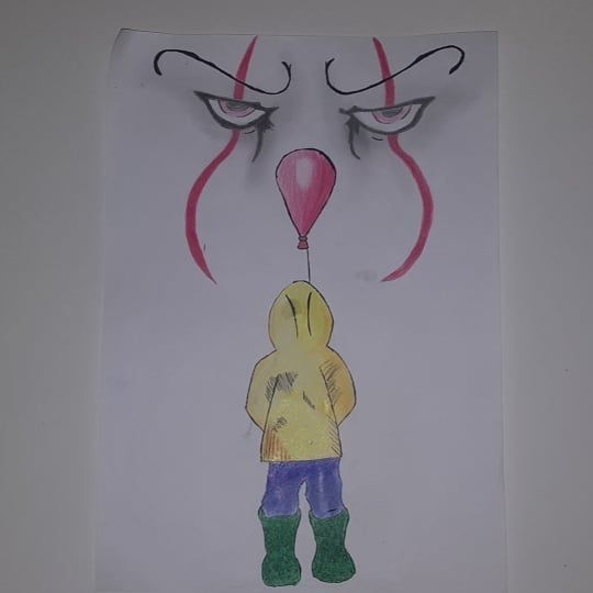 Disegni Drawing It Itdrawing Horror Colors Shades Georgie