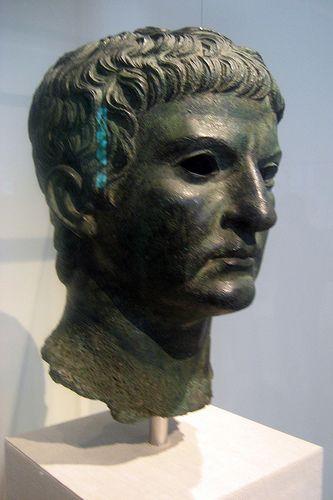 NYC - Metropolitan Museum of Art - Bust of Marcus Agrippa   por wallyg