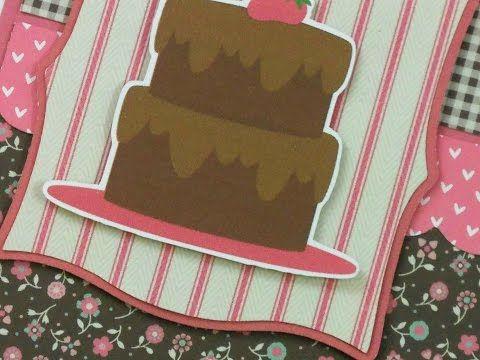 """HAPPY CAKE DAY!"" BIRTHDAY SKETCH CARD - YouTube"