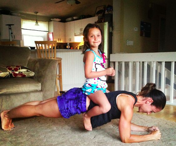 It's time to use your kids in your next workout. Tons of fitness tips for moms and their kids.