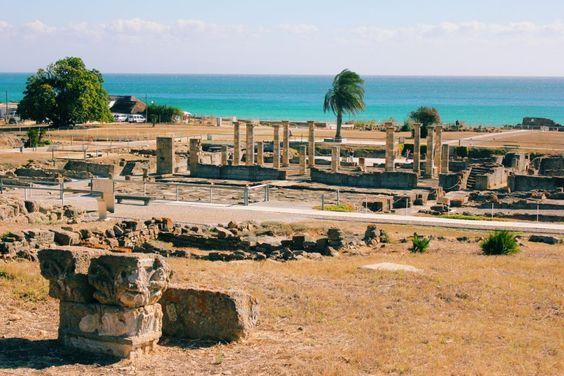 A cidade romana de Baelo Claudia, na Andaluzia. Como chegar lá: https://goo.gl/qgdb7z