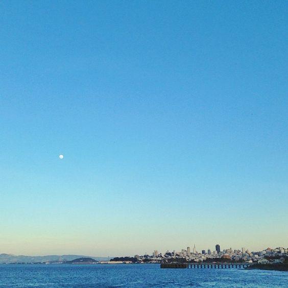 // sunset + San Francisco. <3