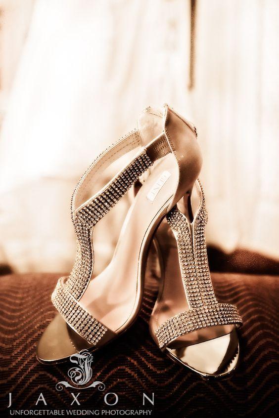 Wedding Shoes at Flint Hill wedding