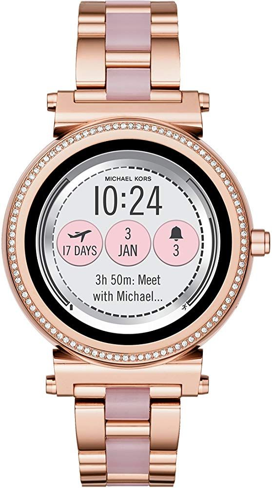 Michael Kors Access Sofie Touchscreen Smartwatch Watches Jewelry Amazon Fashions Trends Moda Wo Watches Women Michael Kors Michael Kors Smartwatch Women