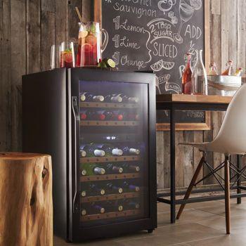 Costco: Danby® DWC040A2BDB Rustic Dual Zone 38-bottle Wine Cellar