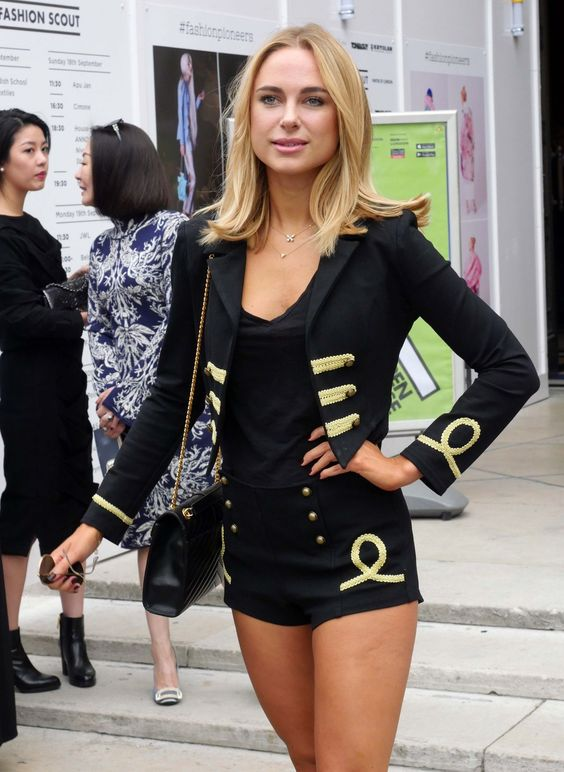 Kimberley Garner Chic Outfit – Out ...