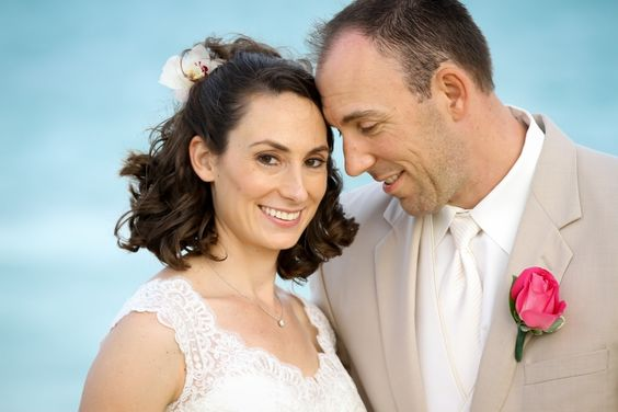 Don't they look so happy and in love? #Bahamas #Wedding
