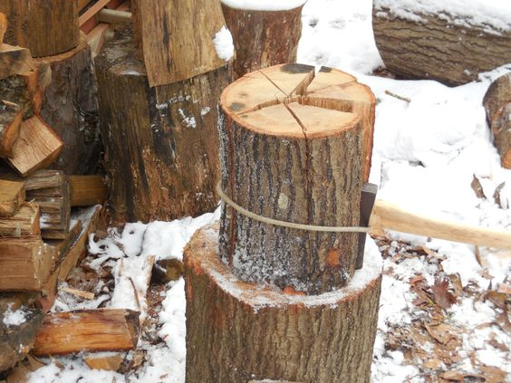 Sharp Sherpa Tip: Processing Wood Safely with Your Ax