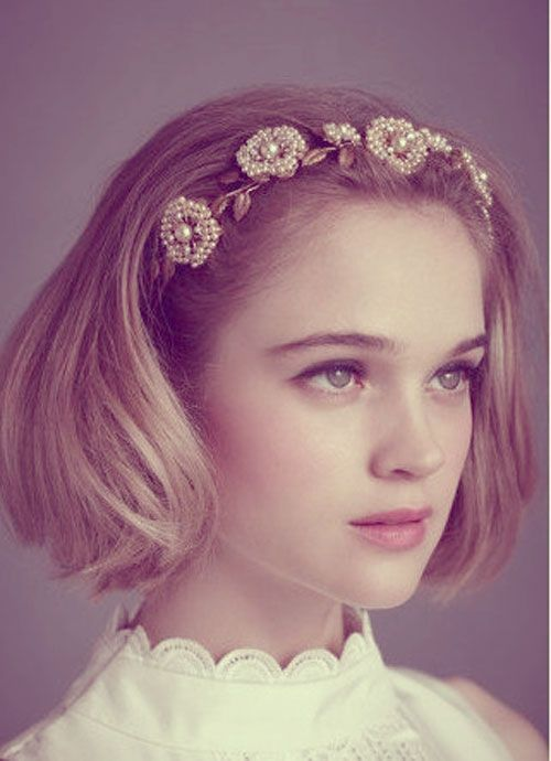 35 Short Wedding Hairstyles For Women 結婚式 ボブ 花嫁