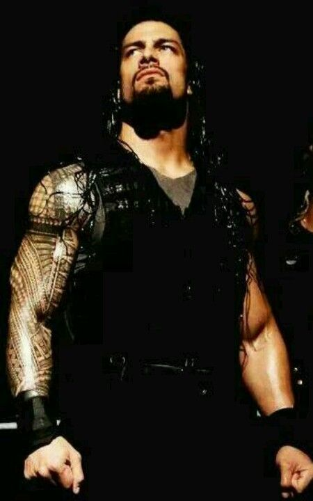 WWE superstar Roman Reigns......doesnt get any better than this!!!!