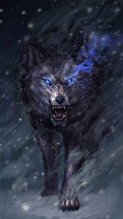 Pin By Wildember On Awesome Art Fantasy Wolf Anime Wolf Wolf Wallpaper Awesome anime wolves wallpaper