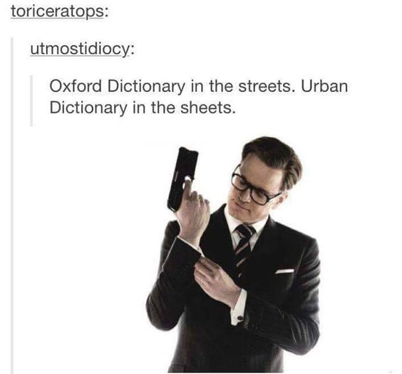 Oxford Dictionary In The Streets Urban Sheets