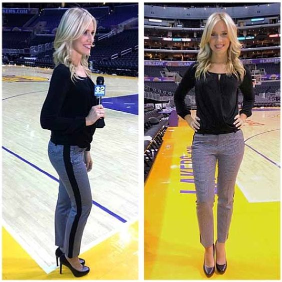 15 Photos of Kristine Leahy, CBS Sports' NCAA Tournament Sideline ...