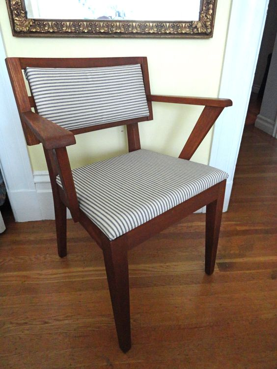 Vintage Mid Century Polygon Chair (restored): SOLD