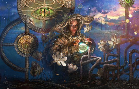 Zeta Reticuli, Yukka Novoseltseva on ArtStation at…