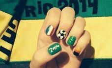 Ces nail-arts spécial Coupe du Monde vont te bluffer !