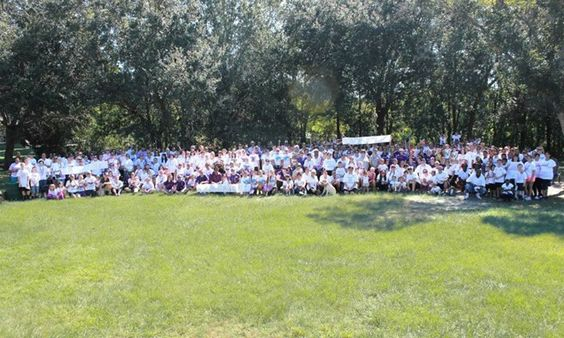 Tampa Bay, FL - A portion of the 495 participants, CCWAA13