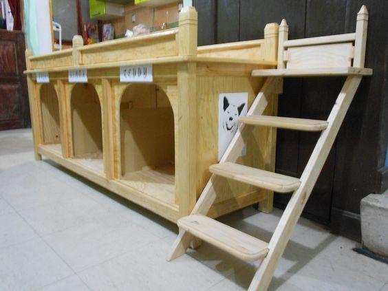 Casas y condominios para perros quieres ver m s for Carpinteria en madera