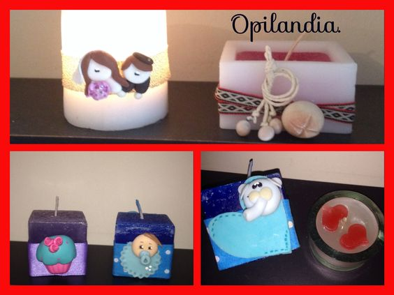 Velas www.Facebook.com/opilandia