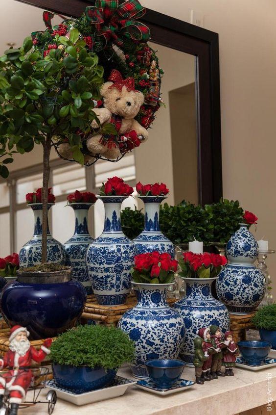 APARADOR DE NATAL | como receber em casa decoração e mesas:
