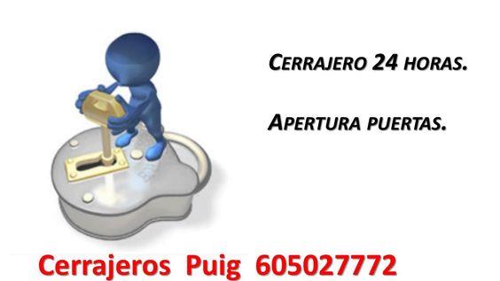Cerrajeros Puig 605027772